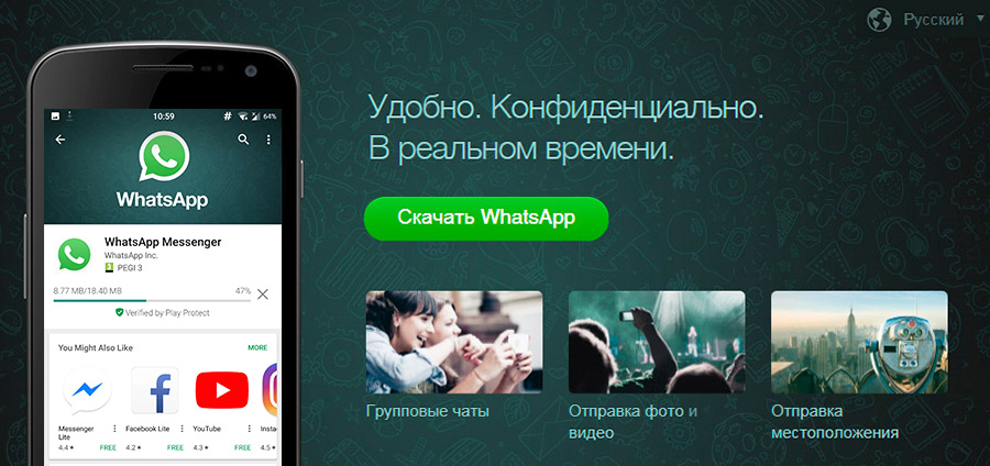 Функции Whatsapp