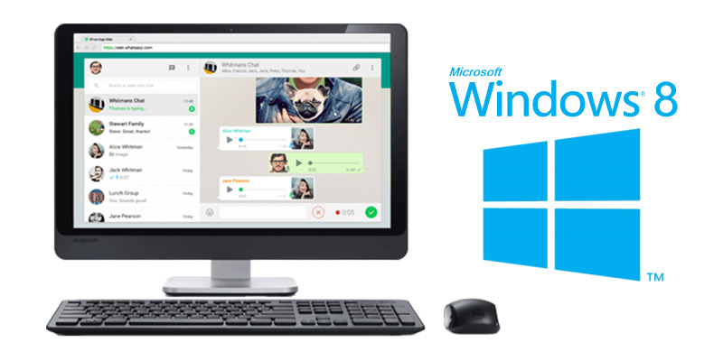 Whatsapp на Windows 8